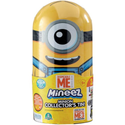 Minions Dumma Mej 3 Mineez Metall Samlarbox multifärg