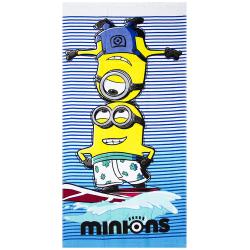 Minions Surf Handduk Badlakan 140*70cm multifärg