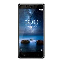 Nokia 8 Härdat Glas Skärmskydd Retail Transparent