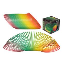 Självlysande Slinky Spiral Trappfjäder Regnbåge Lyser I Mörkret  multifärg