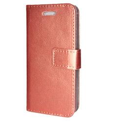 TOPPEN SLIM Sony Xperia XZ Premium Plånboksfodral 4st Kort Rosa guld