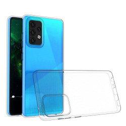 Ultratunn Mjuk Skal TPU Samsung Galaxy A52 5G/4G Genomskinligt Transparent one size