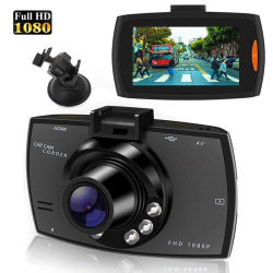 1080P HD Car DVR Dash Vehicle Camera Video Recorder Cam Night V. One size