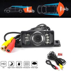 170 CMOS-bakre backkamera för backvy 7 IR Night Vision one size