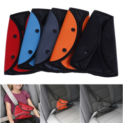 1x barn barn bil säkerhetsbälte fixator triangel sele Black