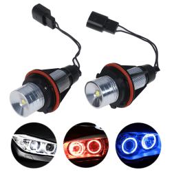 2st LED ängelögonmarkeringsljuslampor för E39 E53 E60 E61 E63 White