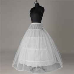 3 bågar för underkläder för bröllopsklänning krinolin för balklänning one size