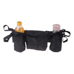Barnvagn Barnväska Organizer Förvaring Hängande Väska Flaskväska Baby One Size