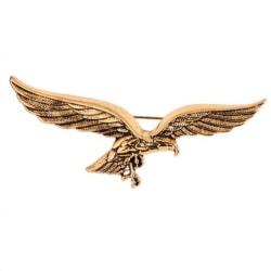 mode guld örn vingar form brosch kavaj stift för män skjorta co Gold