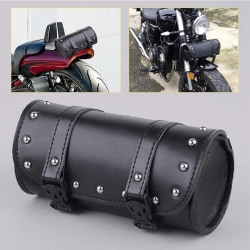 Motorcykel mode läder verktygsväska & sadelväska för Harley Black