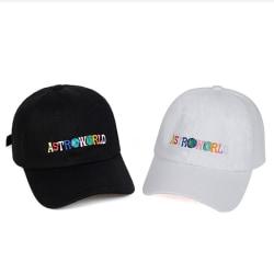 Unisex Astroworld Baseball Caps Travis Scott Unisex Hip Hop Hat Black