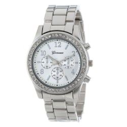 Armbandsur Dam Silver/Diamant