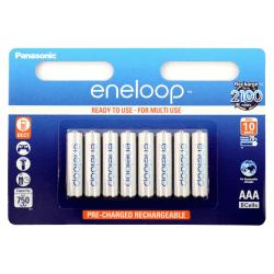 Panasonic Eneloop AAA-Batteri 8-pack