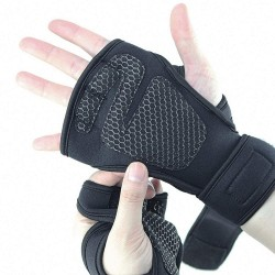 Luftiga träningshandskar - L