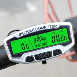 Cykeldator med skärmbelysning