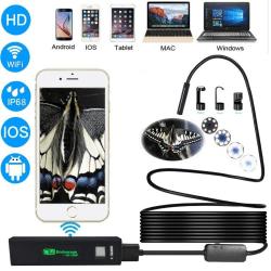 Styv Trådlös Inspektionskamera 1200P HD WiFi Endoskop8 LED - 3,