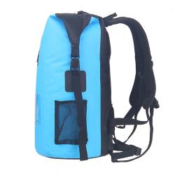Drybag - Vattentät Ryggsäck 30L - Blå