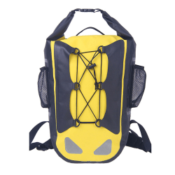 Drybag - Vattentät Ryggsäck 30L - Gul