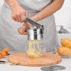 Potatispress med 3 presskivor