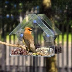 Fågelmatare Hus Transparent