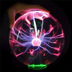Kristall Lampa - Magisk Glasboll