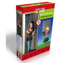 Magic Mesh Magnet insektsnät för dörr SVART - Extra stark magnet