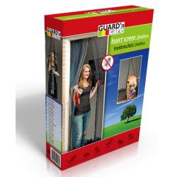 Magic Mesh Magnet insektsnät för dörr VIT - Extra stark magnet
