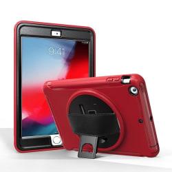 Roterbart fodral med handtag till iPad mini 3 & 2 & 1 Röd