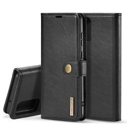 Samsung Galaxy S20 - DG.MING Magnet/Plånboksfodral - Svart Black Svart