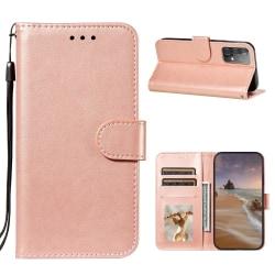 Samsung Galaxy A52 - Solid Plånboksfodral - Roséguld Roséguld