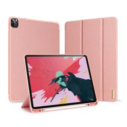 iPad Air (2020) / Pro 11 - DUX DUCIS DOMO Tri-Fold med pennhålla Roséguld