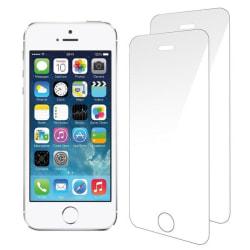 2-Pack härdat glas för iPhone 5/5S & SE