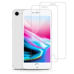 2-Pack härdat glas för iPhone 7 / iPhone 8