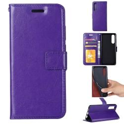 Xiaomi Mi A3 - Plånboksfodral - Lila Purple Lila