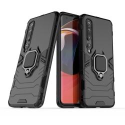 Xiaomi Mi 10 / 10 Pro - Ring Skal - Svart Black Svart