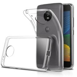 Motorola Moto G5 Plus - Transparent TPU Skal
