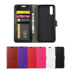 Huawei P20 Pro - Plånboksfodral - Välj Färg! Black Svart