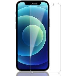 2-Pack - iPhone 12 / 12 Pro - Härdat Glas Skärmskydd
