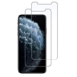 2-Pack härdat glas för iPhone XR