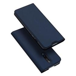 OnePlus 8 - DUX DUCIS Plånboksfodral - Mörk Blå Mörkblå