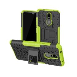 Nokia 3.2 - Ultimata stöttåliga skalet med stöd - Grön Green Grön