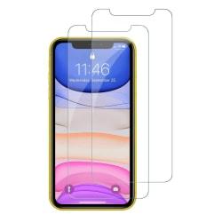 2-Pack - iPhone 11 - Härdat Glas Skärmskydd