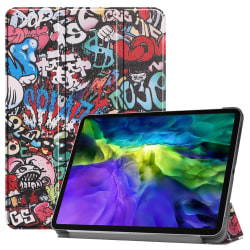 iPad Air (2020) / Pro 11 - Tri-Fold Fodral - Graffiti