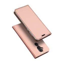 Nokia 8.1 - DUX DUCIS Plånboksfodral - Roséguld Roséguld