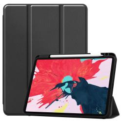 iPad Air 2020, Pro 11 2018/2020 - Tri-Fold Fodral med Pennhållar Black Svart