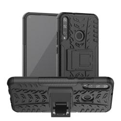 Huawei P40 Lite E - Ultimata Stöttåliga Skalet med Stöd - Svart Black Svart