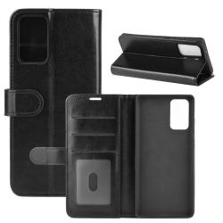 Samsung Galaxy Note 20 - Crazy Horse Plånboksfodral - Svart Black Svart