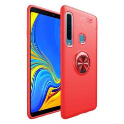 Samsung Galaxy A9 (2018) - Ring Skal - Röd Red Röd