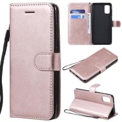 Samsung Galaxy A41 - Plånboksfodral - Roséguld Roséguld