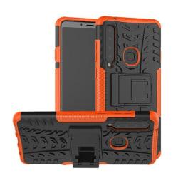 Samsung A9 (2018) - Ultimata stöttåliga skalet med stöd - Orange Orange Orange